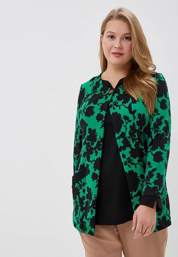 женская туника olsi, зеленая