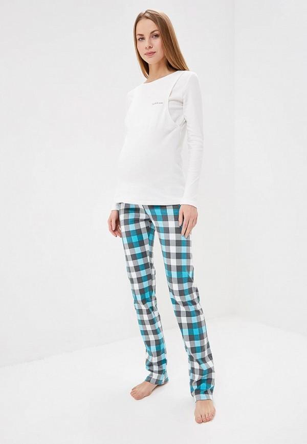 женская пижама hunny mammy, разноцветная