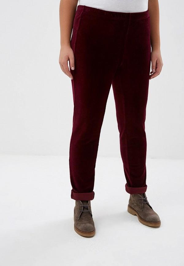 женские повседневные брюки olsi, бордовые
