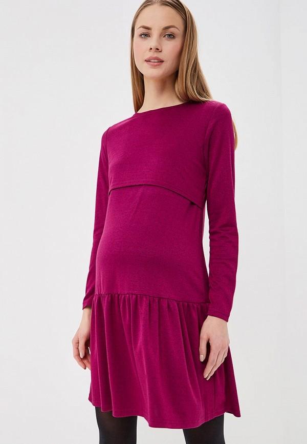 женское платье для беременных hunny mammy, розовое