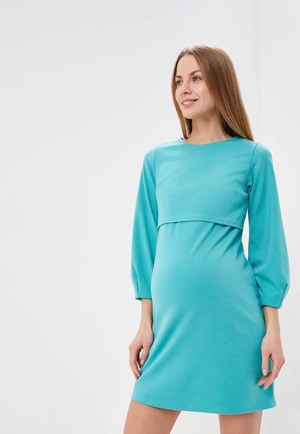 женское платье для беременных hunny mammy, зеленое
