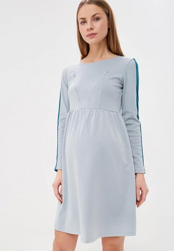 женское платье для беременных hunny mammy, серое