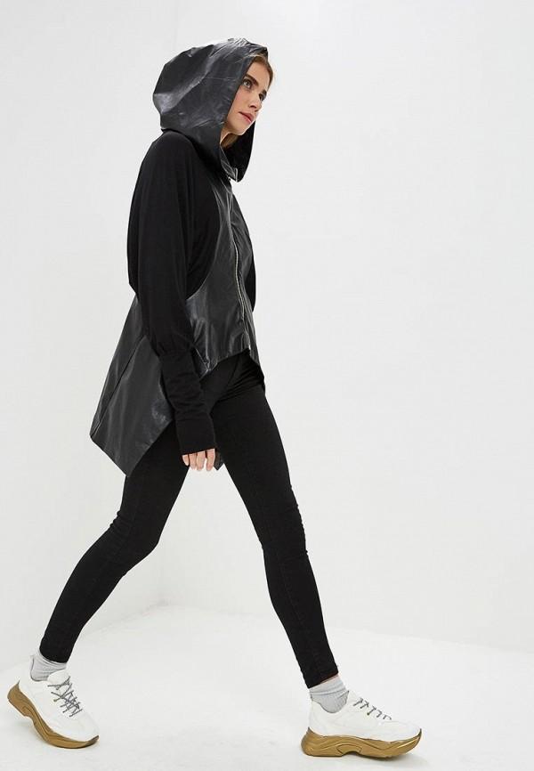 Фото 2 - Женский кардиган Dich черного цвета