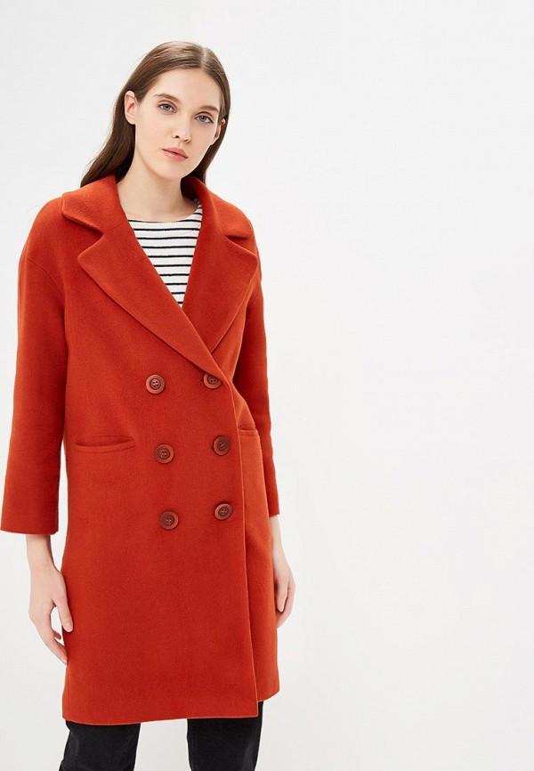 женское пальто gamelia, коричневое