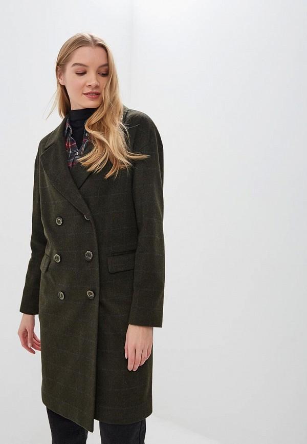 Купить Пальто Gamelia, mp002xw1he52, зеленый, Осень-зима 2018/2019