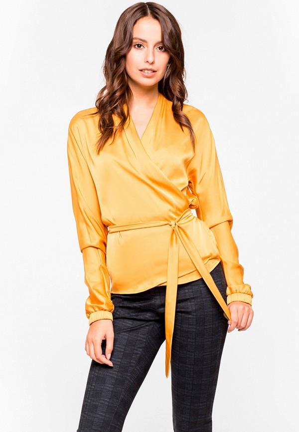 женская блузка lorani, желтая