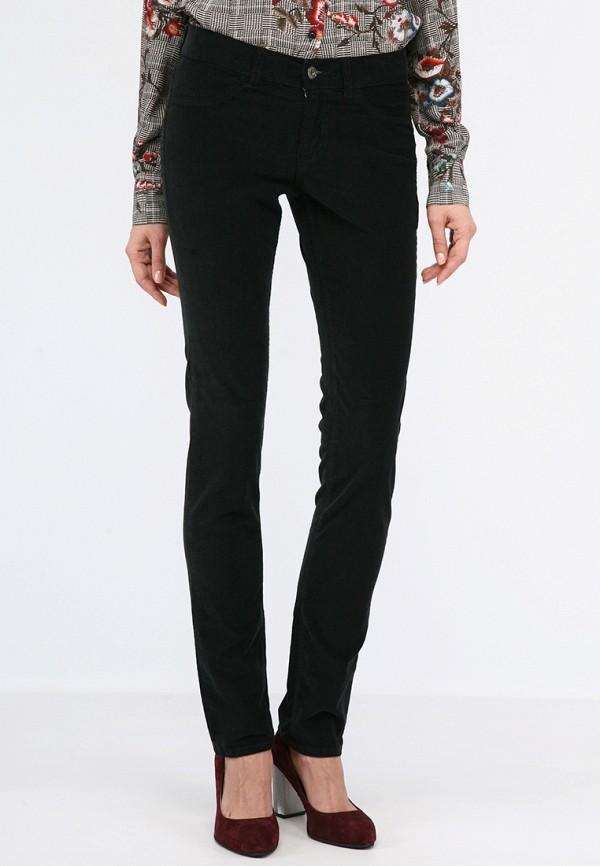 женские зауженные брюки lagrand, черные