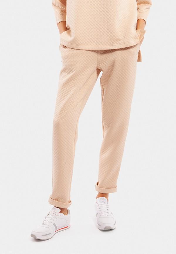женские спортивные спортивные брюки vladi collection, бежевые
