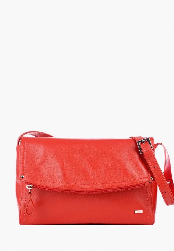 женская сумка esse, красная
