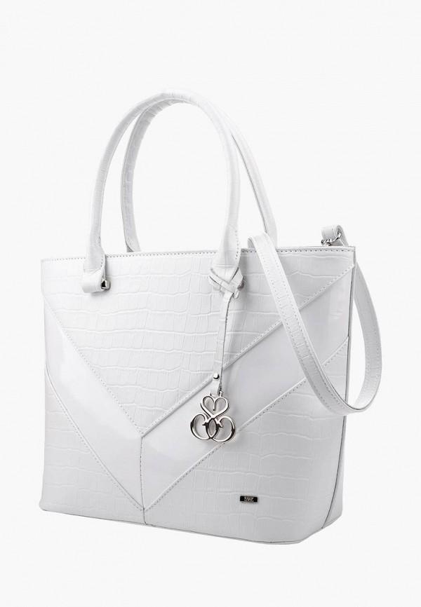 женская сумка esse, белая