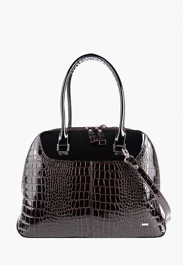 женская сумка esse, коричневая