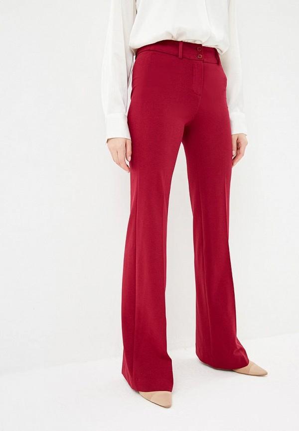 женские повседневные брюки ruxara, бордовые