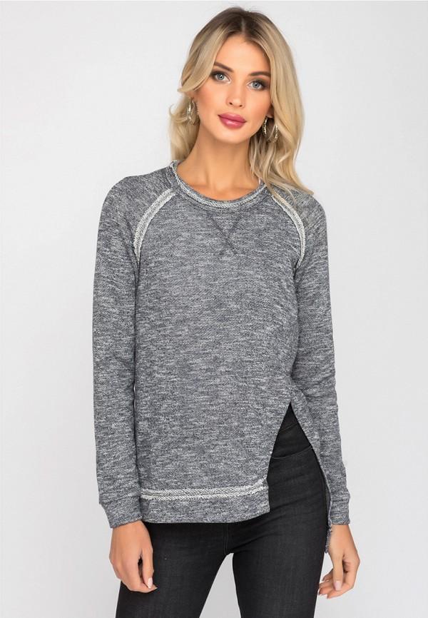 женский джемпер gloss, серый