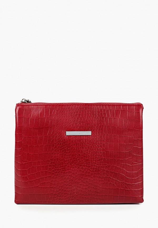женская сумка alessandro birutti, красная