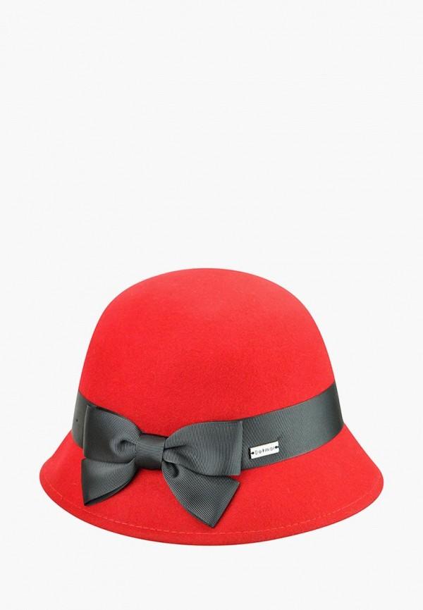 женская шляпа betmar, красная
