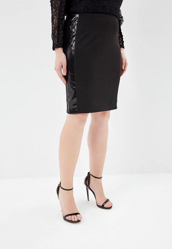 женская прямые юбка svesta, черная