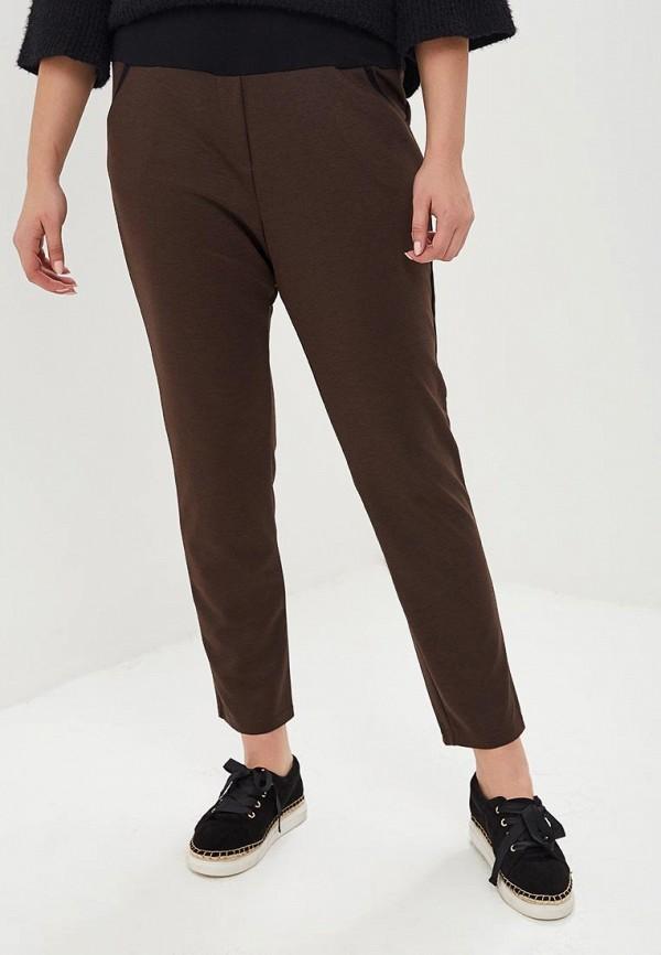женские зауженные брюки svesta, коричневые