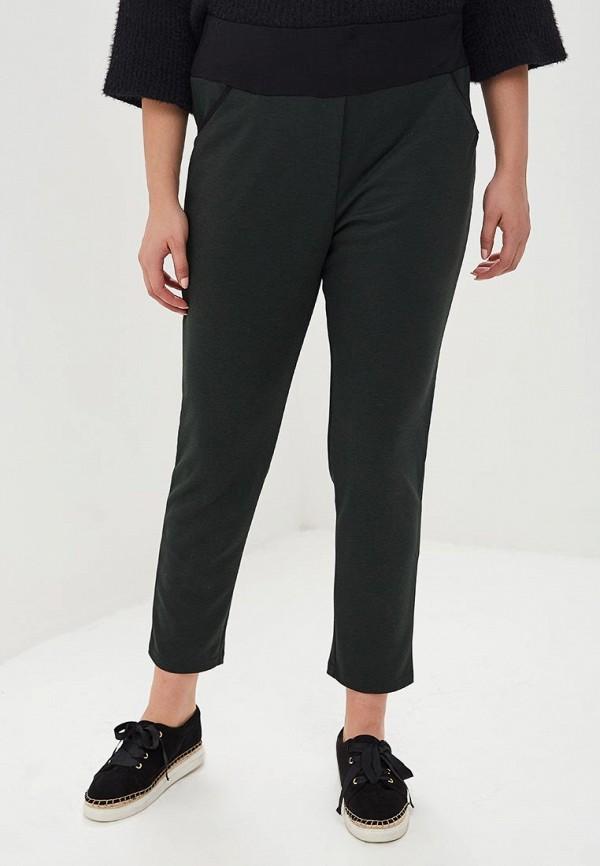 женские зауженные брюки svesta, зеленые