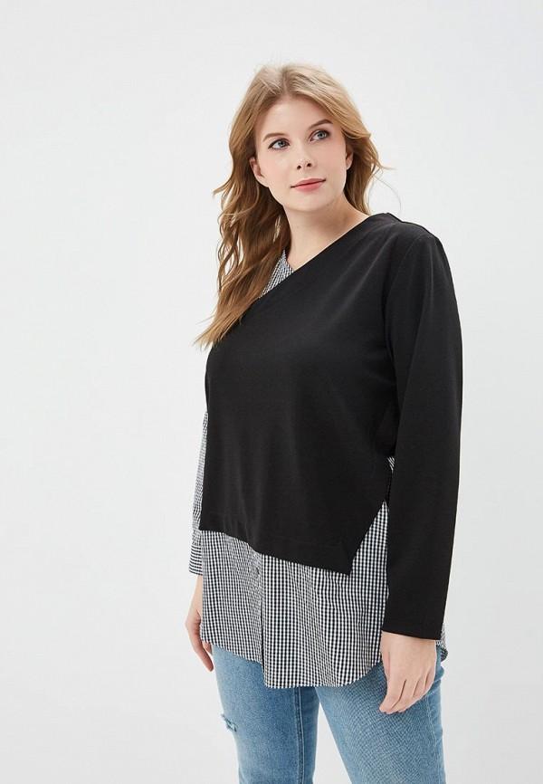 женский пуловер svesta, черный