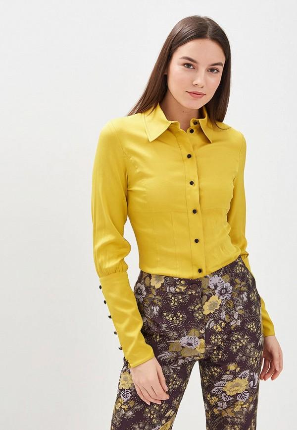 женская блузка galina vasilyeva, желтая