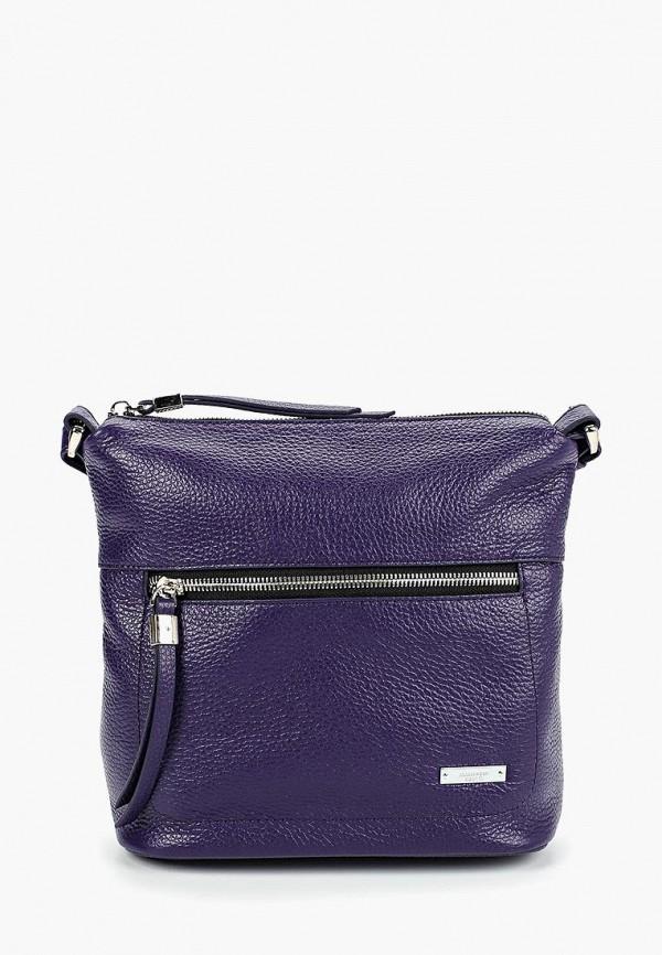 Сумка через плечо  фиолетовый цвета