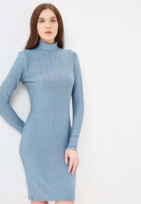 женское повседневные платье indreams, голубое