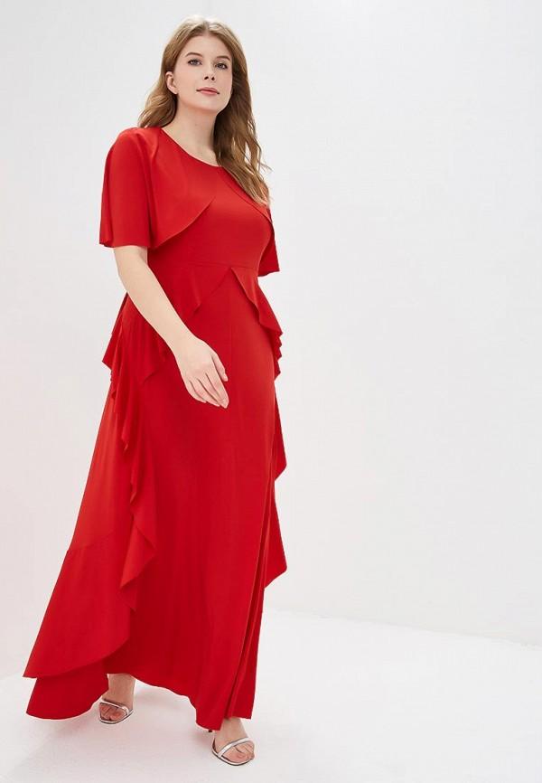 женское вечерние платье svesta, красное