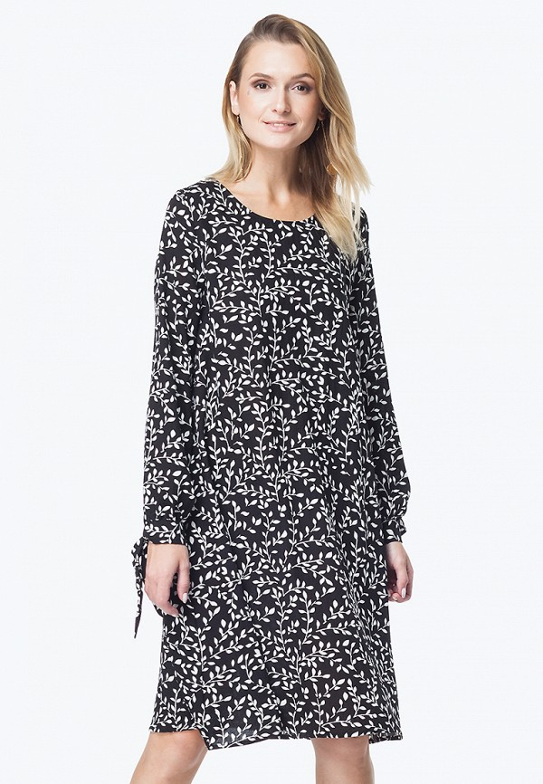 женское повседневные платье vilatte, черное