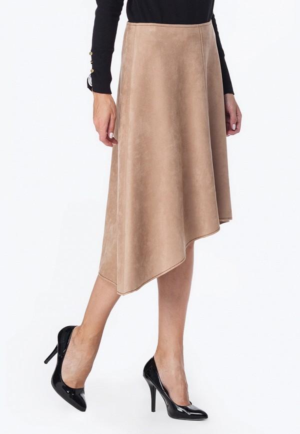 женская юбка vilatte, бежевая