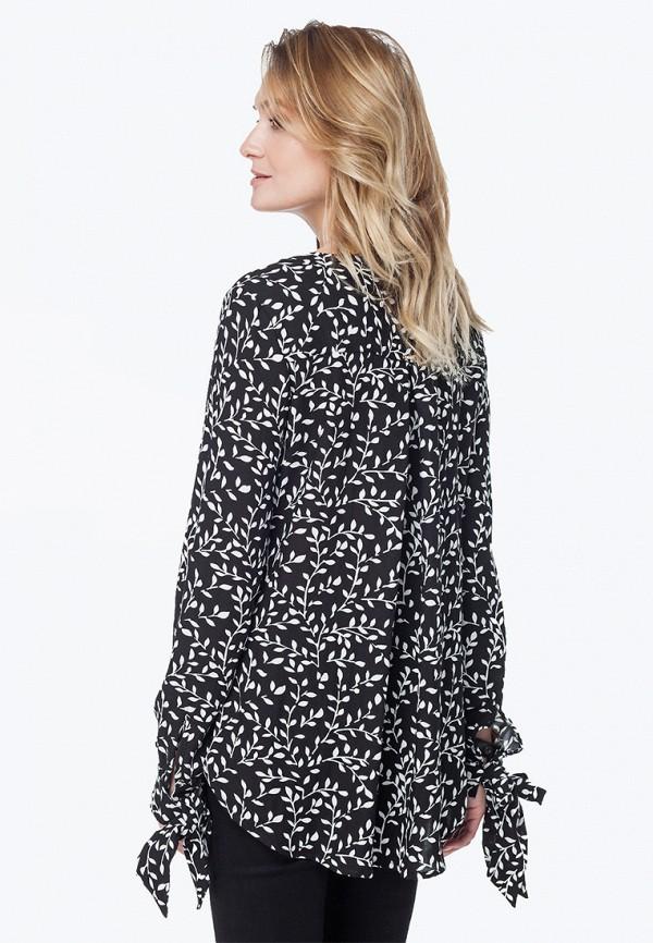 Фото 3 - Блузу Vilatte черного цвета