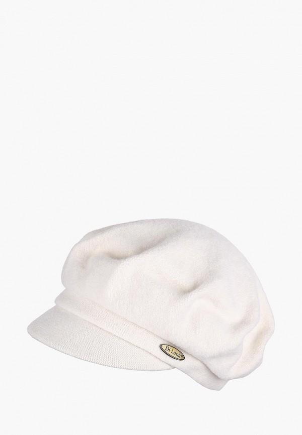 женская кепка di lana, белая