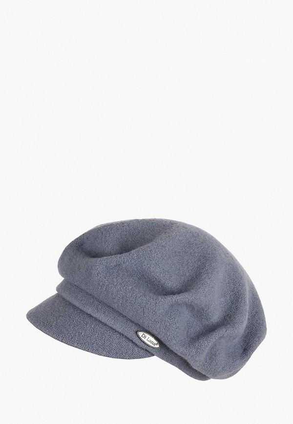 женская кепка di lana, серая