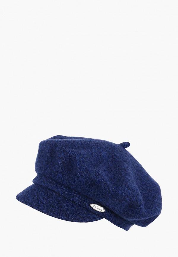 женская кепка di lana, синяя