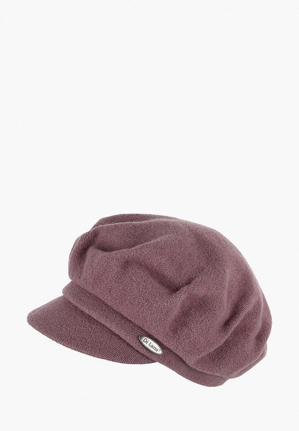 женская кепка di lana, розовая