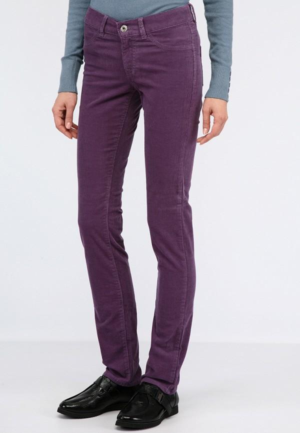 женские повседневные брюки lagrand, фиолетовые