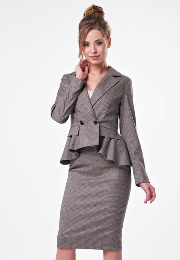 женский костюм irma dressy, серый