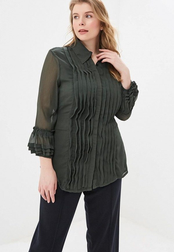 женская блузка almatrichi, зеленая