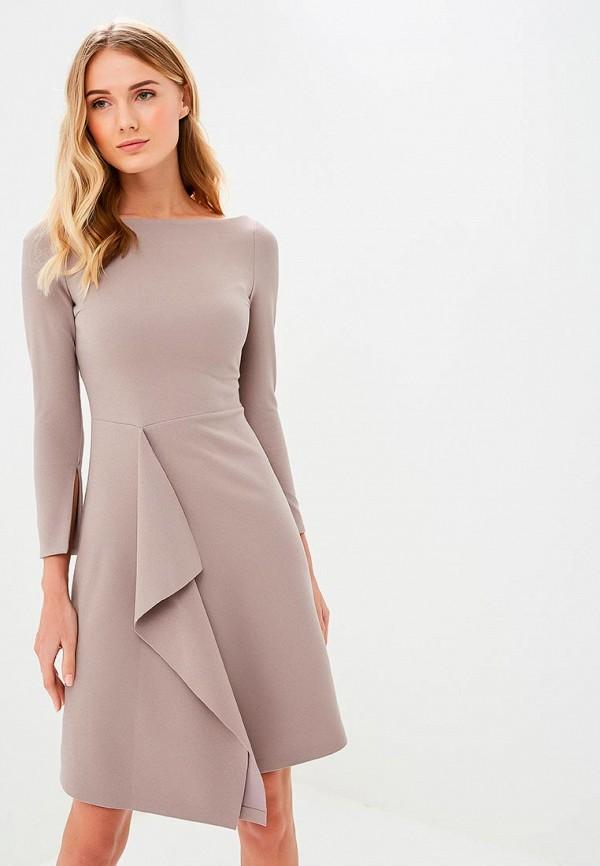 женское повседневные платье m,a,k you are beautiful, бежевое