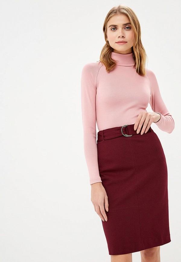 женская водолазка ruxara, розовая