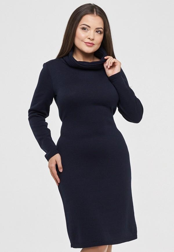 женское платье мини vay, синее