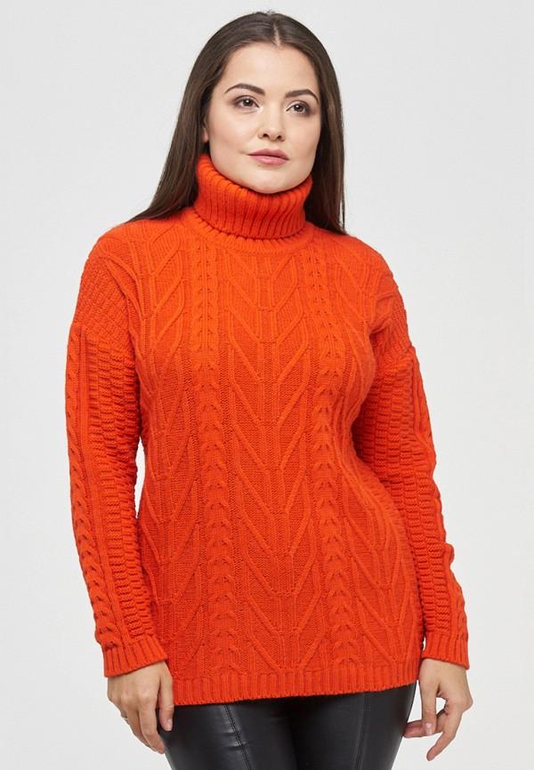 женский свитер vay, оранжевый