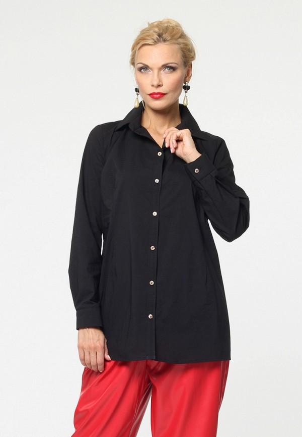 женская рубашка с длинным рукавом kata binska, черная