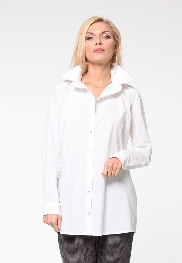 женская рубашка с длинным рукавом kata binska, белая