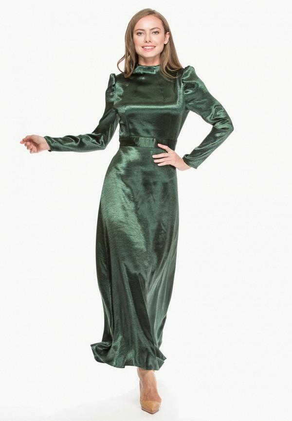 женское вечерние платье cavo, зеленое