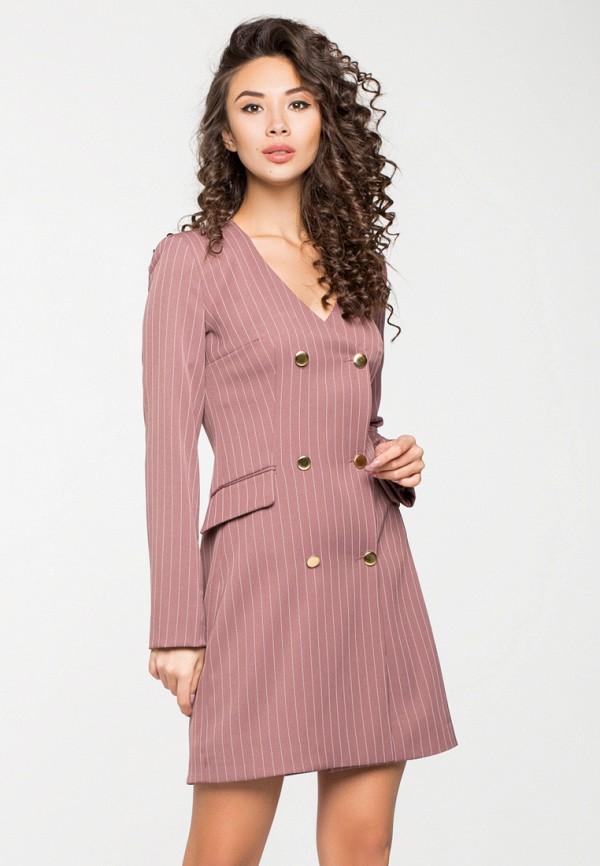 Купить Платье itelle, mp002xw1hfia, розовый, Осень-зима 2018/2019