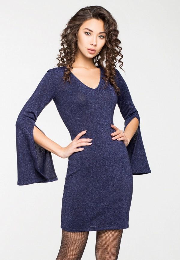 Купить Платье itelle, mp002xw1hfib, синий, Осень-зима 2018/2019