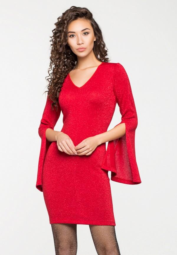 Купить Платье itelle, mp002xw1hfic, красный, Осень-зима 2018/2019