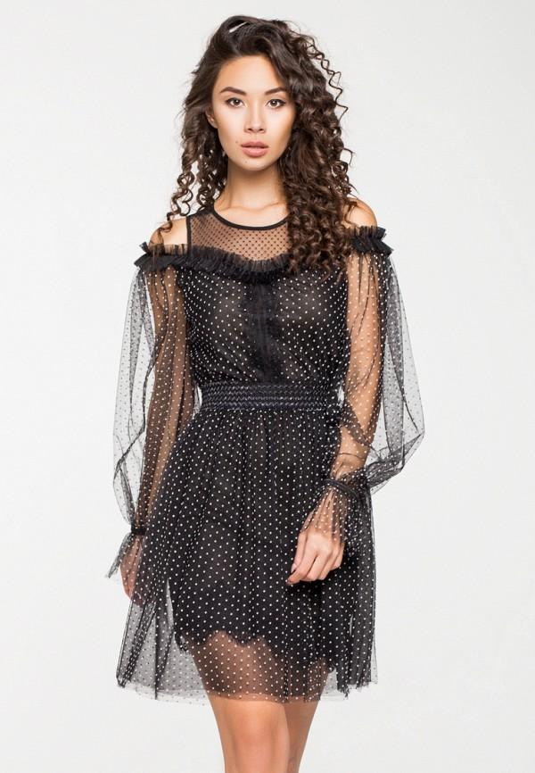 Купить Платье itelle, mp002xw1hfig, черный, Осень-зима 2018/2019