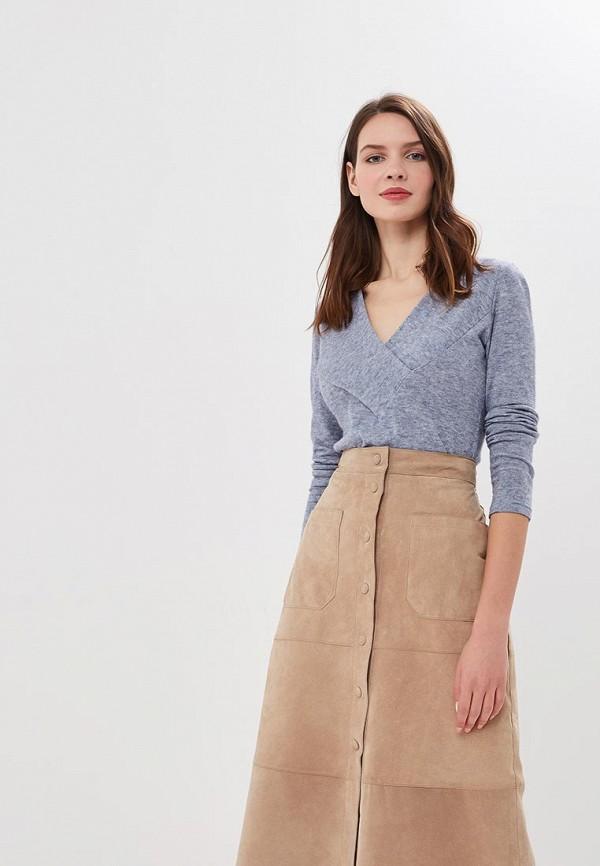 женский пуловер elit by ter-hakobyan, голубой