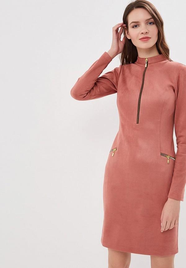 женское повседневные платье elit by ter-hakobyan, розовое